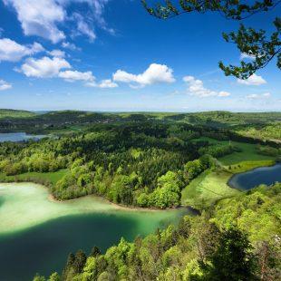Belvédère des 4 Lacs au printemps