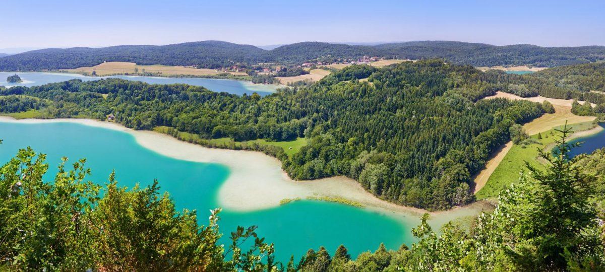 Vue panoramique du le belvédère des 4 lacs