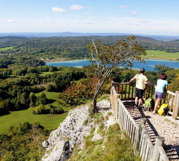 Randonnée au Pic de l'Aigle © Serge Reverchon/Jura Tourisme