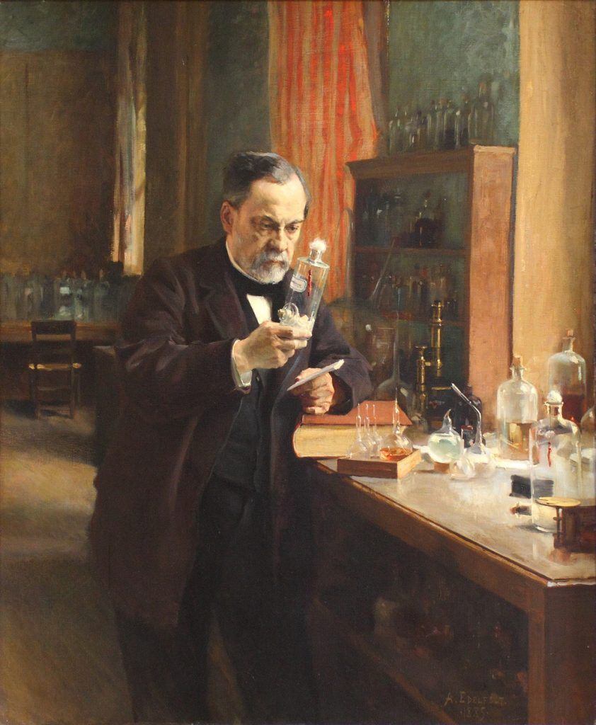 Portrait de Louis Pasteur © Wikipédia