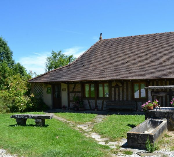 Détail d'une maison bressane © Jura Tourisme