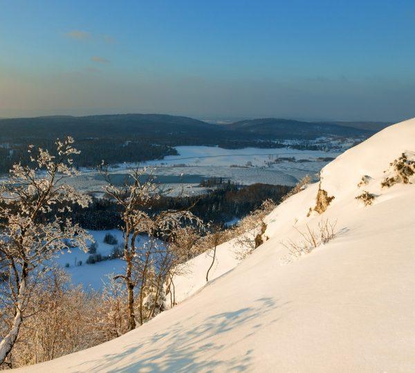 Pic de l'Aigle en hiver et en raquette © Stéphane Godin/Jura Tourisme
