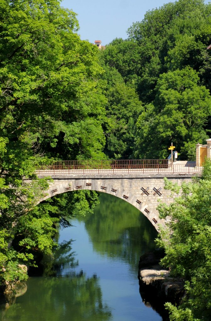 Pont sur l'Ain à Champagnole © Jura Tourisme