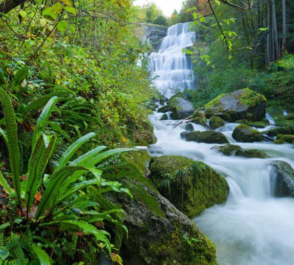 Cascades du Hérisson – l'éventail