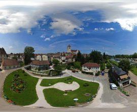 Vue 360° de Dole, ville d'art et d'histoire
