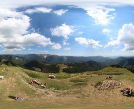 Vue 360° depuis le Crêt de Chalam, massif du Jura