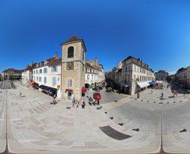 Vue 360° de Lons-le-Saunier - Place de la Liberté