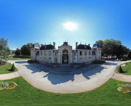 Vue 360° de Lons-le-Saunier - Parc des Bains