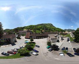Vue 360° de la Station thermale de Salins-les-Bains