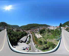 Vue 360° de Saint-Claude, capitale de la pipe et du diamant