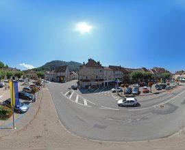 Vue 360° de Poligny, capitale du Comté