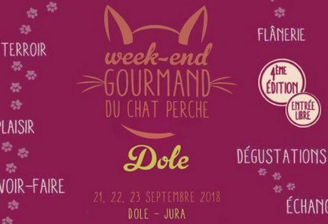 Affiche Week-end Gourmand du Chat Perché
