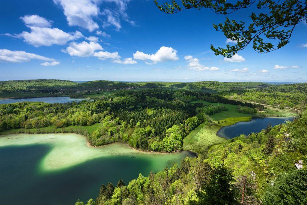 Le Belvédère des 4 lacs © Stéphane Godin / Jura Tourisme