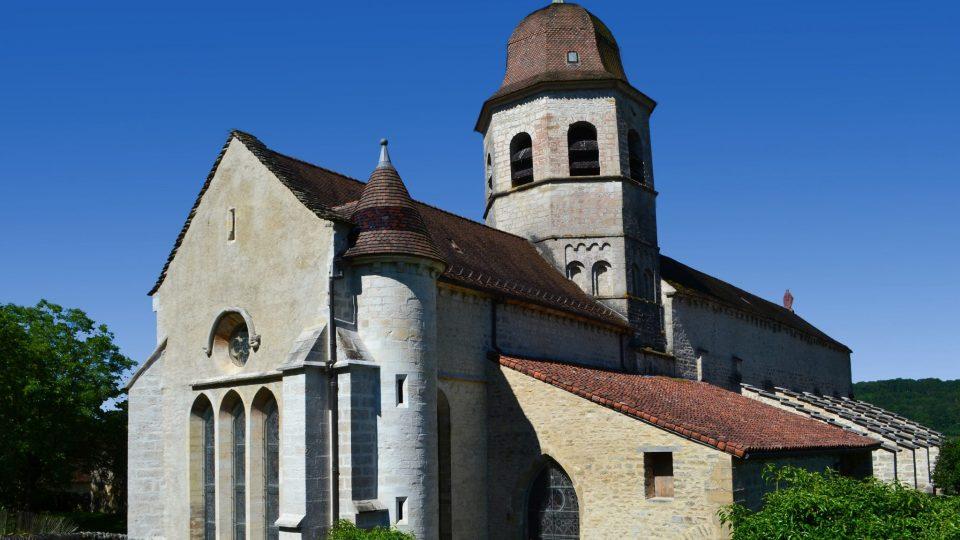 Abbaye de Gigny © Jura Tourisme