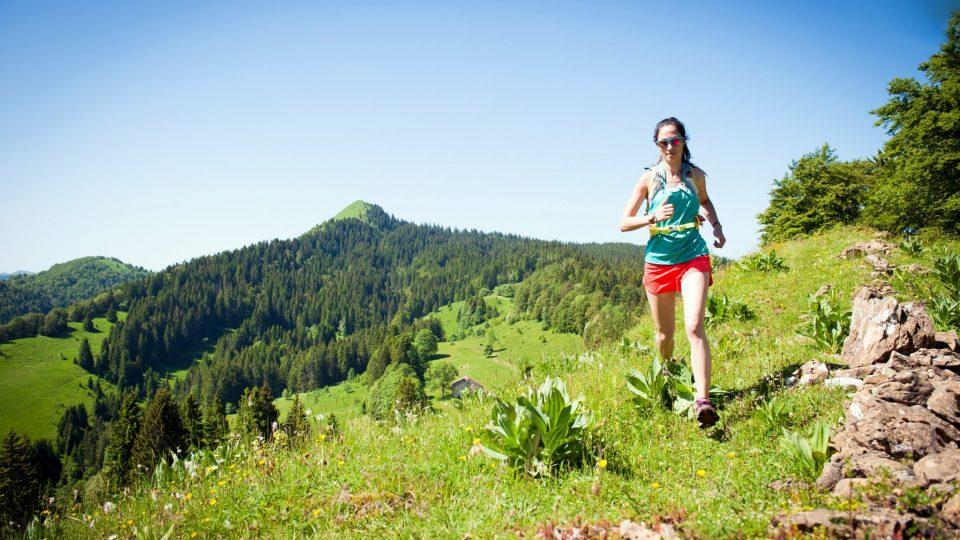 Traileuse dans le Haut-Jura
