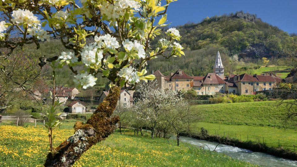 Abbaye de Baume-les-Messieurs © Stéphane Godin/Jura Tourisme