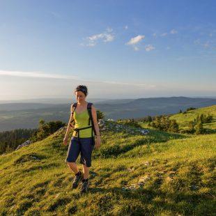 Randonnée pédestre dans le Haut-Jura