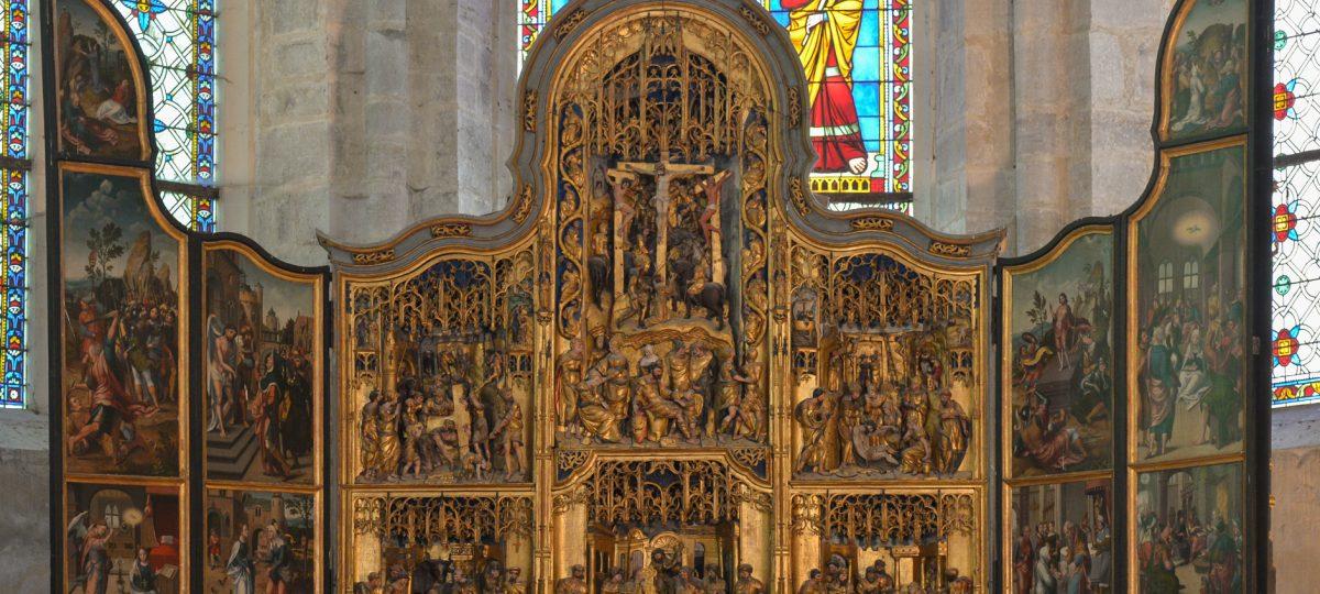 Retable de l'Abbaye de baume-les-Messieurs