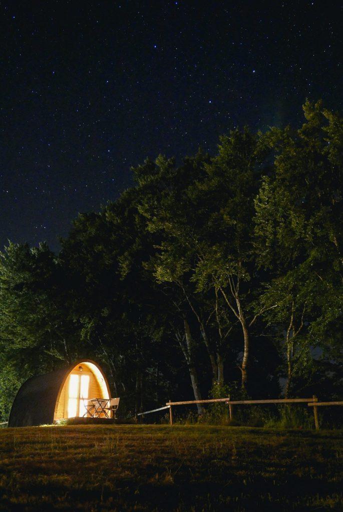 Tente Bivouac au camping de Narlay