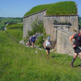 Montée du Poupet - Fort Saint-André