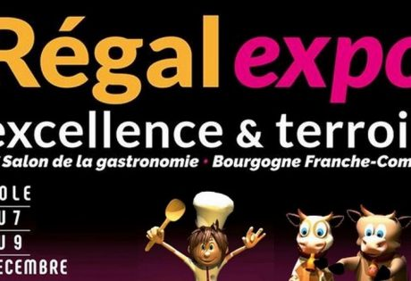 Affiche Régal Expo Dole