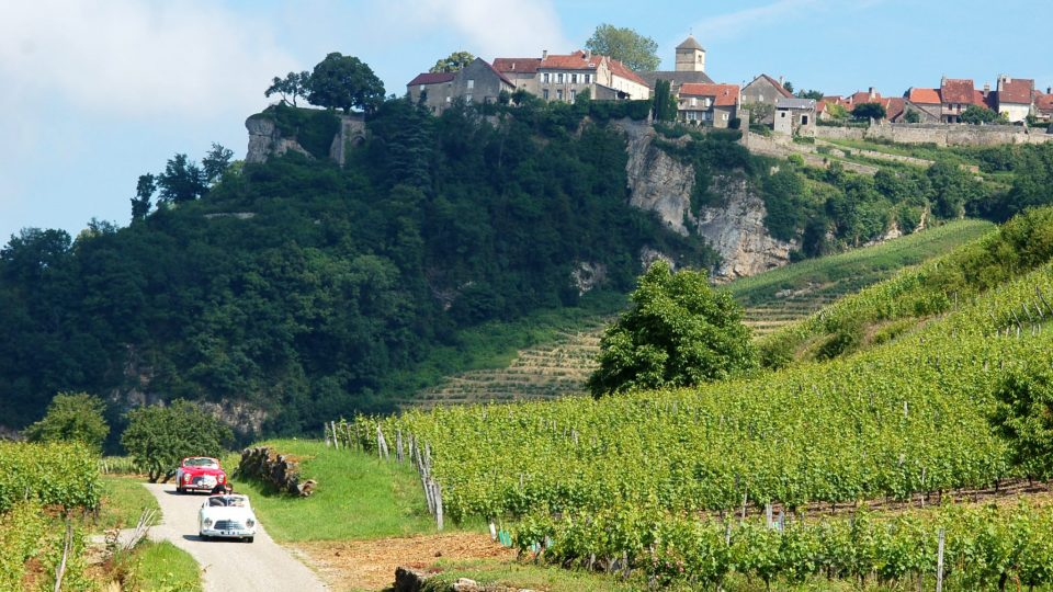 Balade en voiture à Château-Chalon