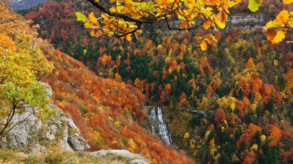 Cascades du Hérisson © Stéphane Godin/Jura Tourisme