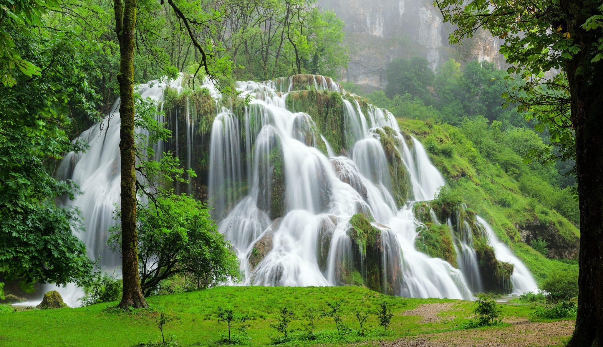 Cascades du Jura, Cascades du Hérisson, cascade des Tufs - Jura ...