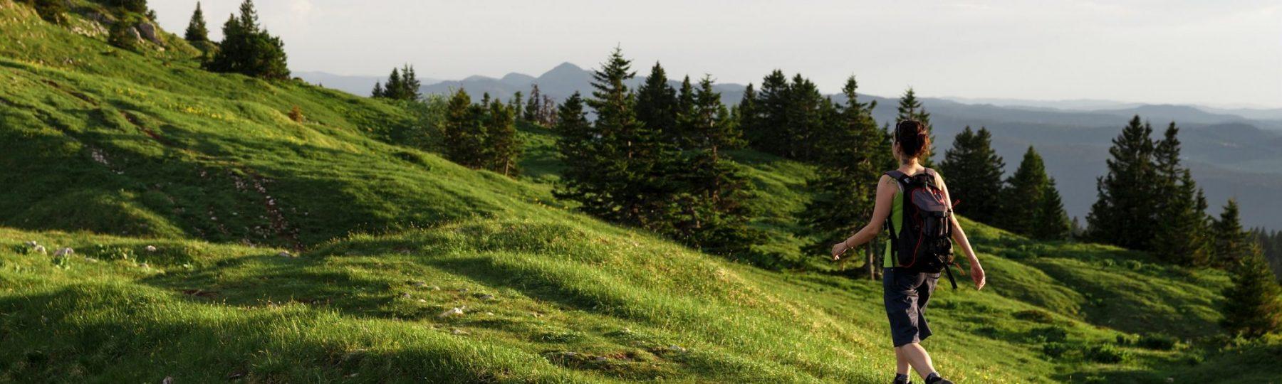 Randonnée dans le Haut-Jura © Stéphane Godin / Jura Tourisme