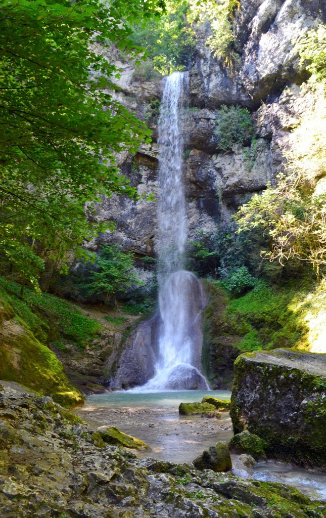 Cascade de la Quinquenouille © Jura Tourisme