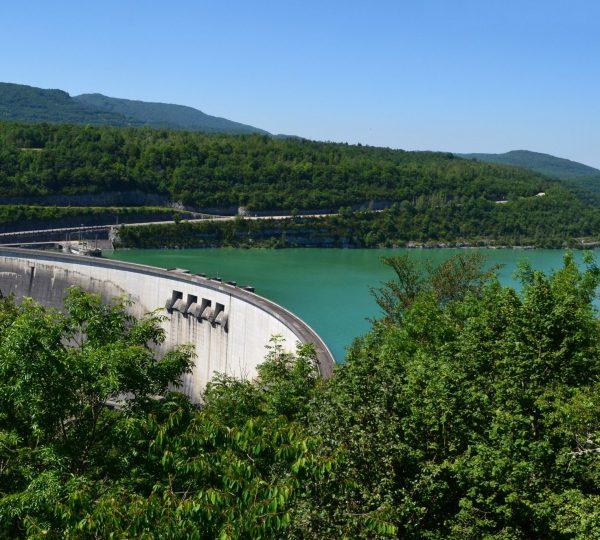 Barrage du Lac de Vouglans © Jura Tourisme