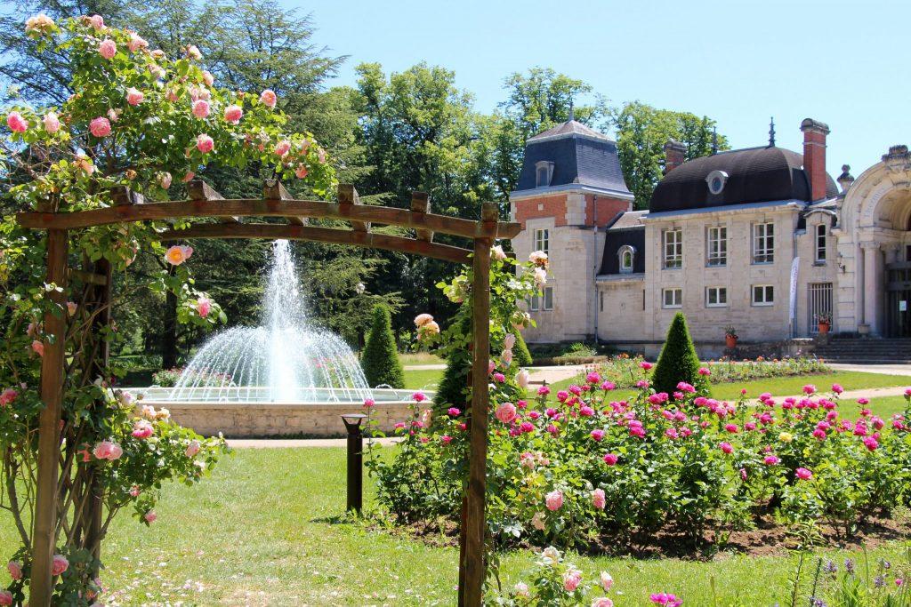 Parc des Bains et Thermes Valvital de Lons-le-Saunier © Aline Dalloz/Jura Tourisme