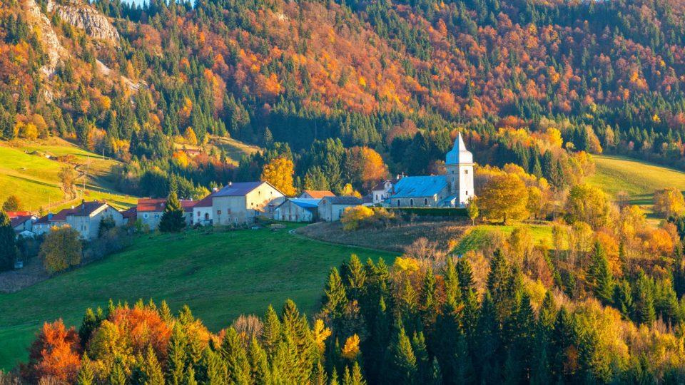 Village des Bouchoux,© Vincent Edwell/Jura Tourisme