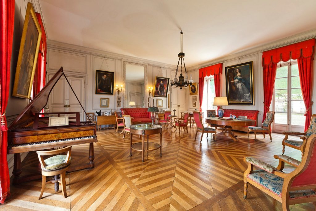 Salon du Château d'Arlay © Jean-Baptiste Merillot/Jura Tourisme