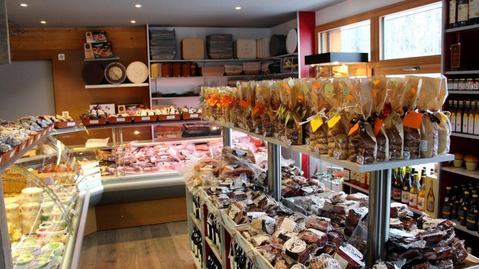 Ferme du Grandvallier - Magasin de vente de produits régionaux
