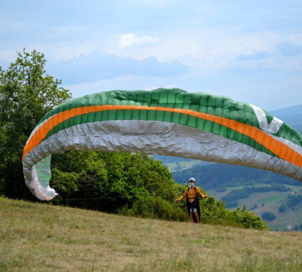 Parapente au Mont Poupet – Salins-les-Bains
