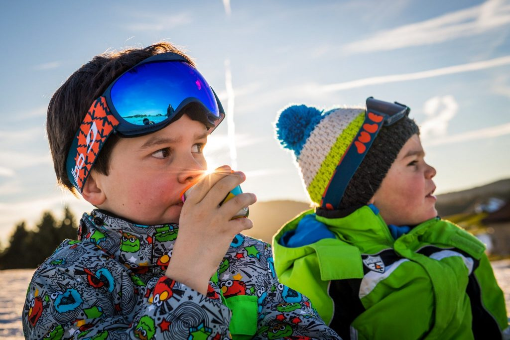 Jeux de neige sur la Station des Rousses © Benjamin Becker/Jura tourisme