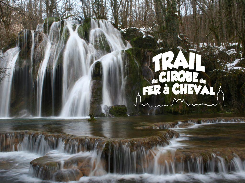 Trail du Cirque du Fer à Cheval - cascade des Planches