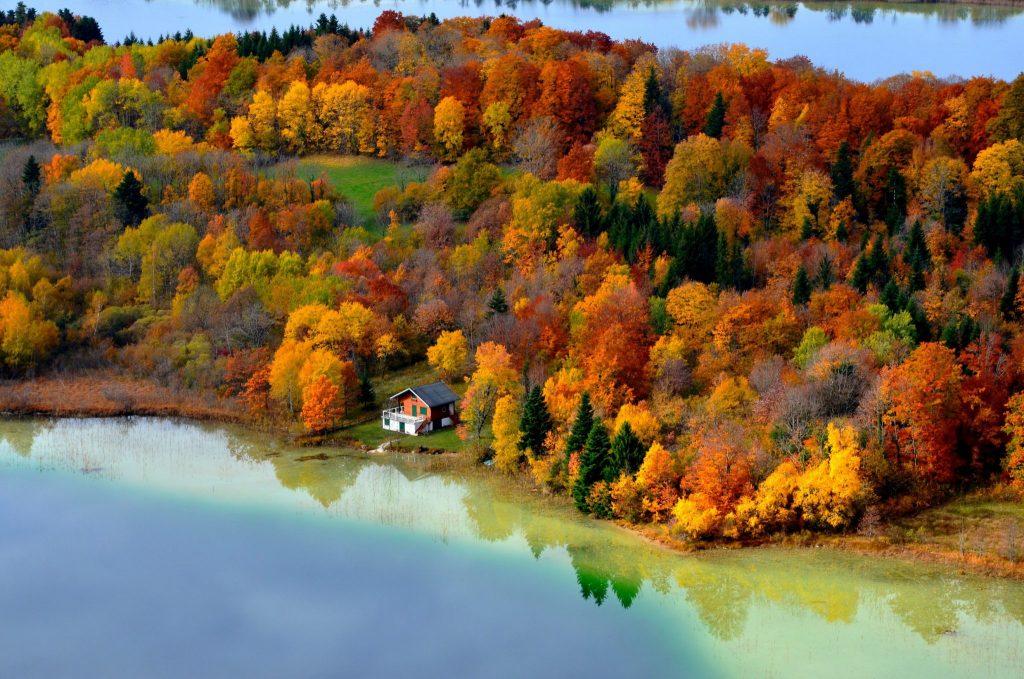 Vue depuis le Belvédère des 4 Lacs © Florian Simonnet/Jura Tourisme