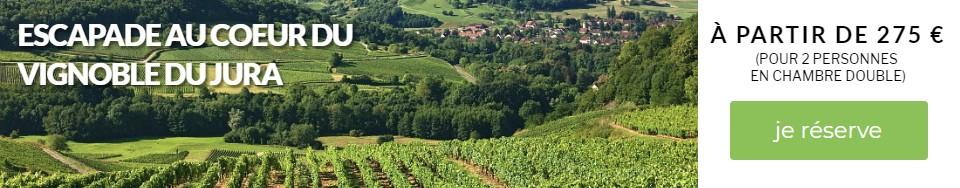 Escapade au cœur du vignoble du Jura