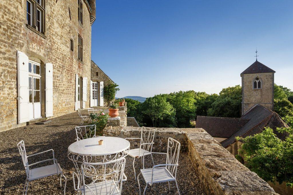 Château de Frontenay © Stéphane Godin/Jura Tourisme