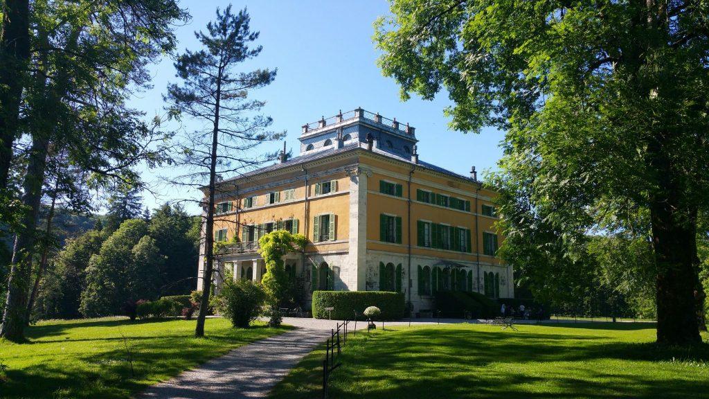 Villa Palladienne de Syam © Jura Tourisme