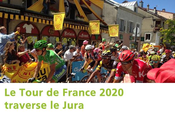 Tour de France 2020 dans le Jura