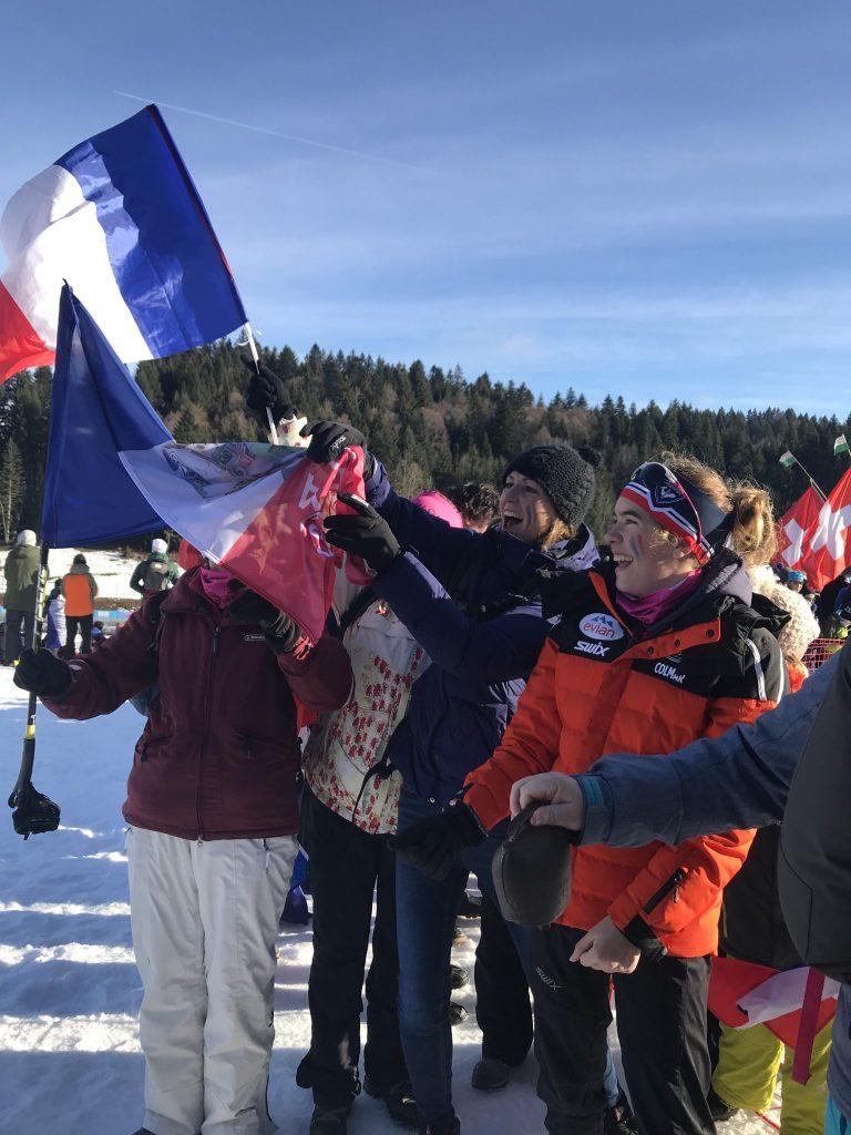 Supporteurs aux Jeux Olympiques de la Jeunesse Lausanne 2020 © Jura Tourisme