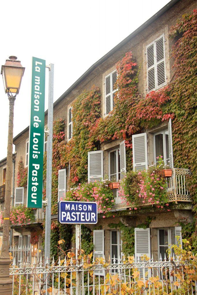 Maison Pasteur à Arbois © Aline Dalloz/Jura Tourisme