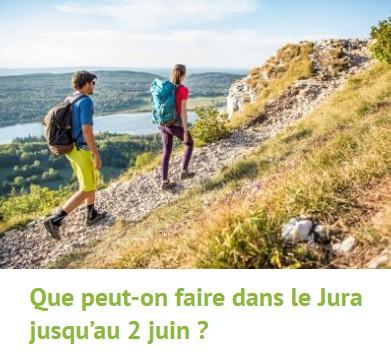 Que peut-on faire dans le Jura jusqu'au 2 Juin ?
