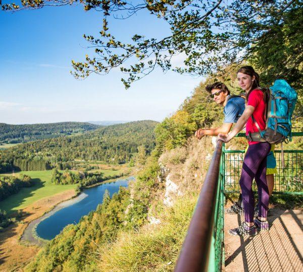 Randonnée au belvédère des 4 lacs © Benjamin Becker / Jura Tourisme