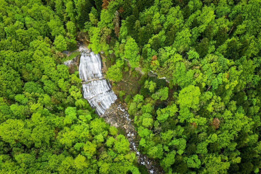 Cascade de l'Eventail © Stéphane Godin/Jura Tourisme