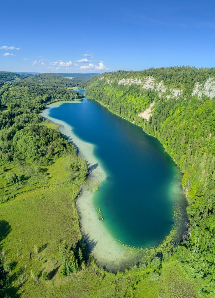 Lacs du Grand et du Petit Maclu © Stéphane Godin/Jura Tourisme