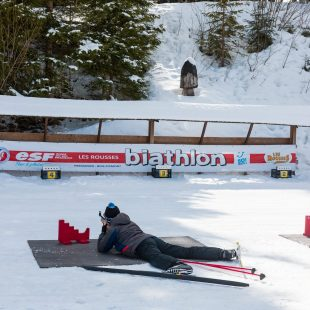 Initiation au biathlon© Ariane Fornia/Jura Tourisme